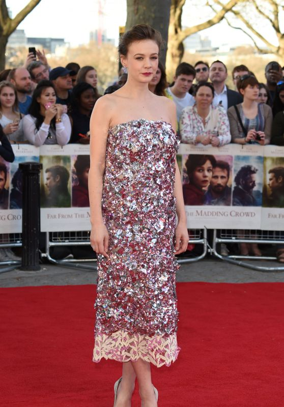Carey Mulligan - Far From the Madding Crowd Premiere in London