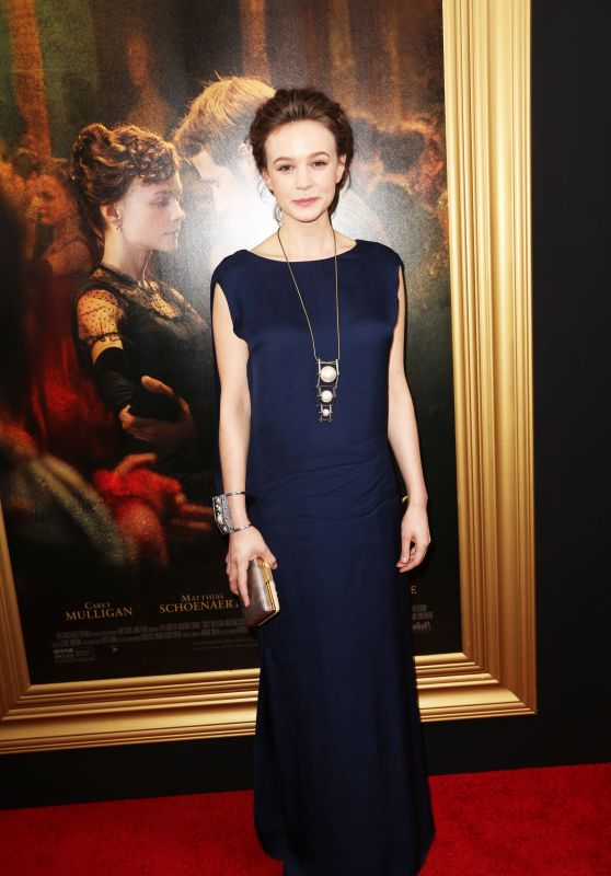Carey Mulligan - Far From The Madding Crowd Premiere in New York City