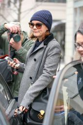 Carey Mulligan - Leaving an Office Building in SoHo in NYC