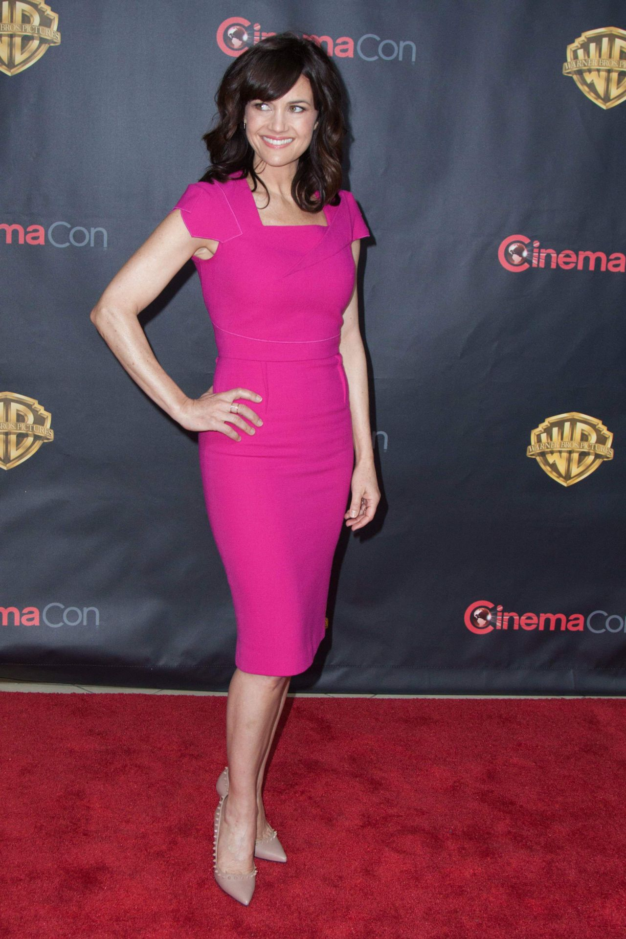 Carla Gugino 2015 Cinemacon Warner Bros Presents The