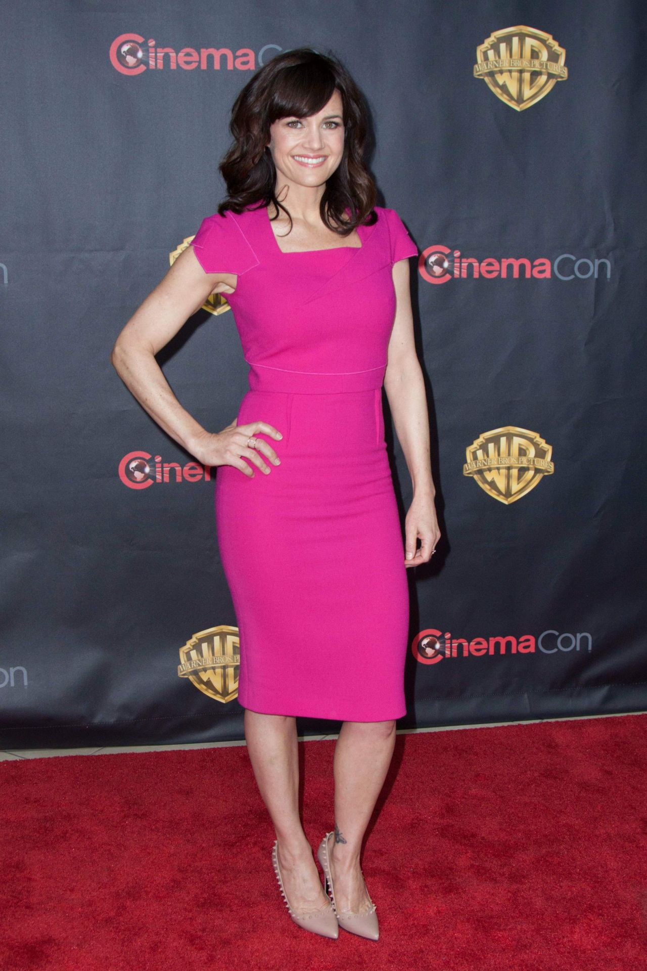 Carla Gugino 2015 Cinemacon Warner Bros Presents The