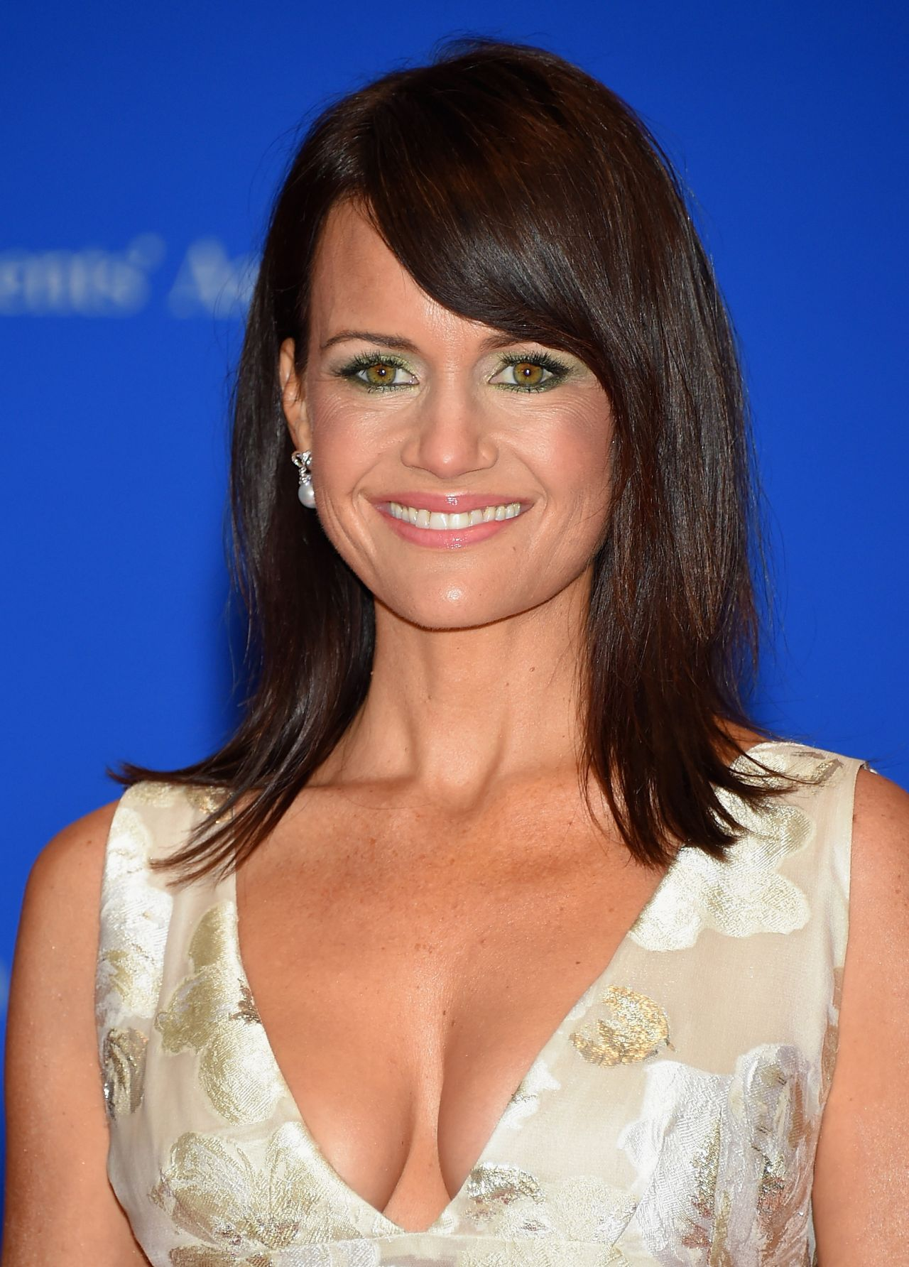 Carla Gugino  2015 White House Correspondents Dinner In -5646