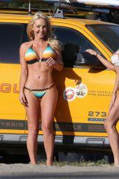 Cassie Scerbo Hot in Bikini - at a Beach in Malibu - April 2015