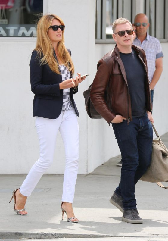 Cat Deeley - Has Lunch With Husband at E Baldi in Beverly Hills, April 2015