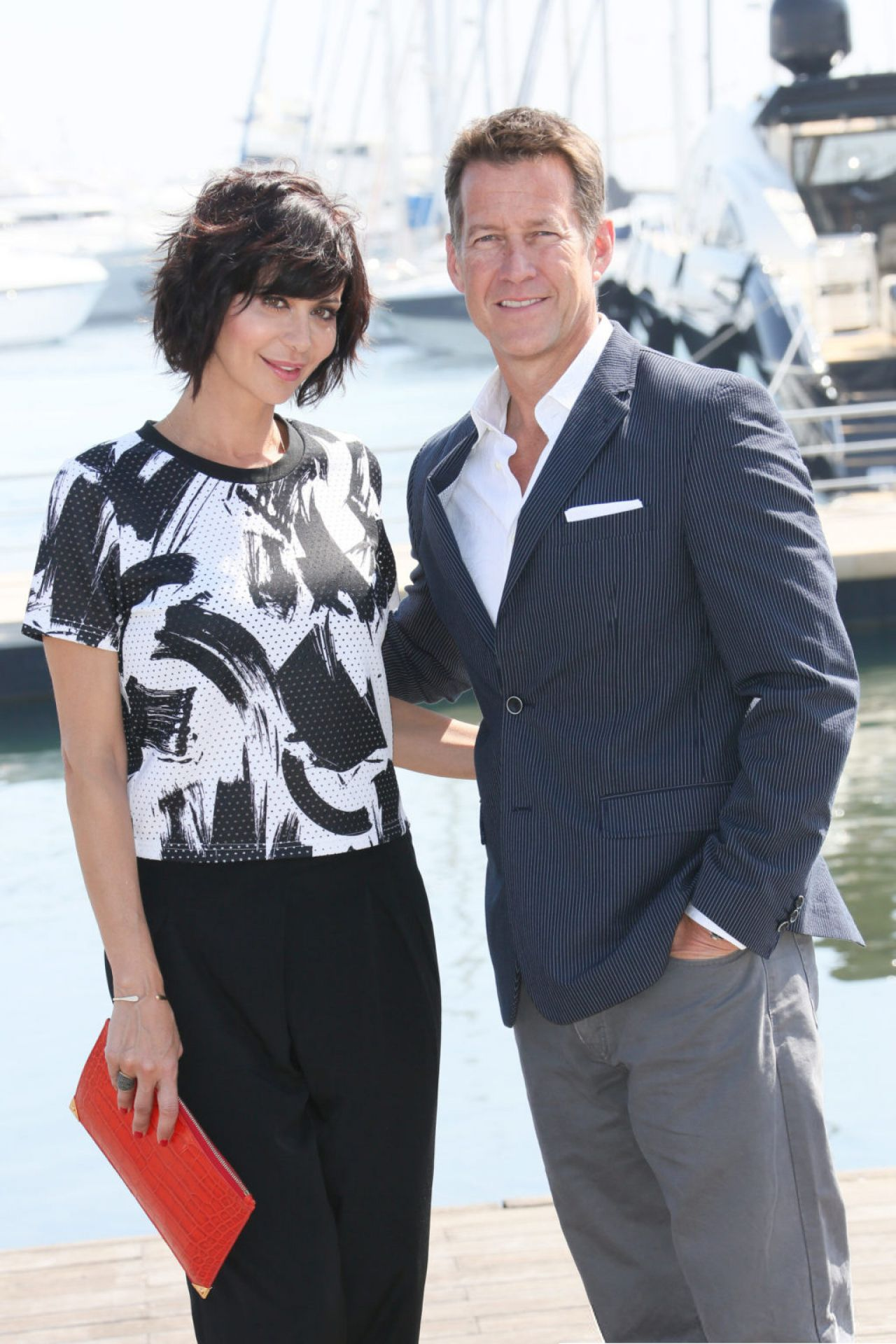 Catherine Bell The Good Witch Photocall At Miptv 2015