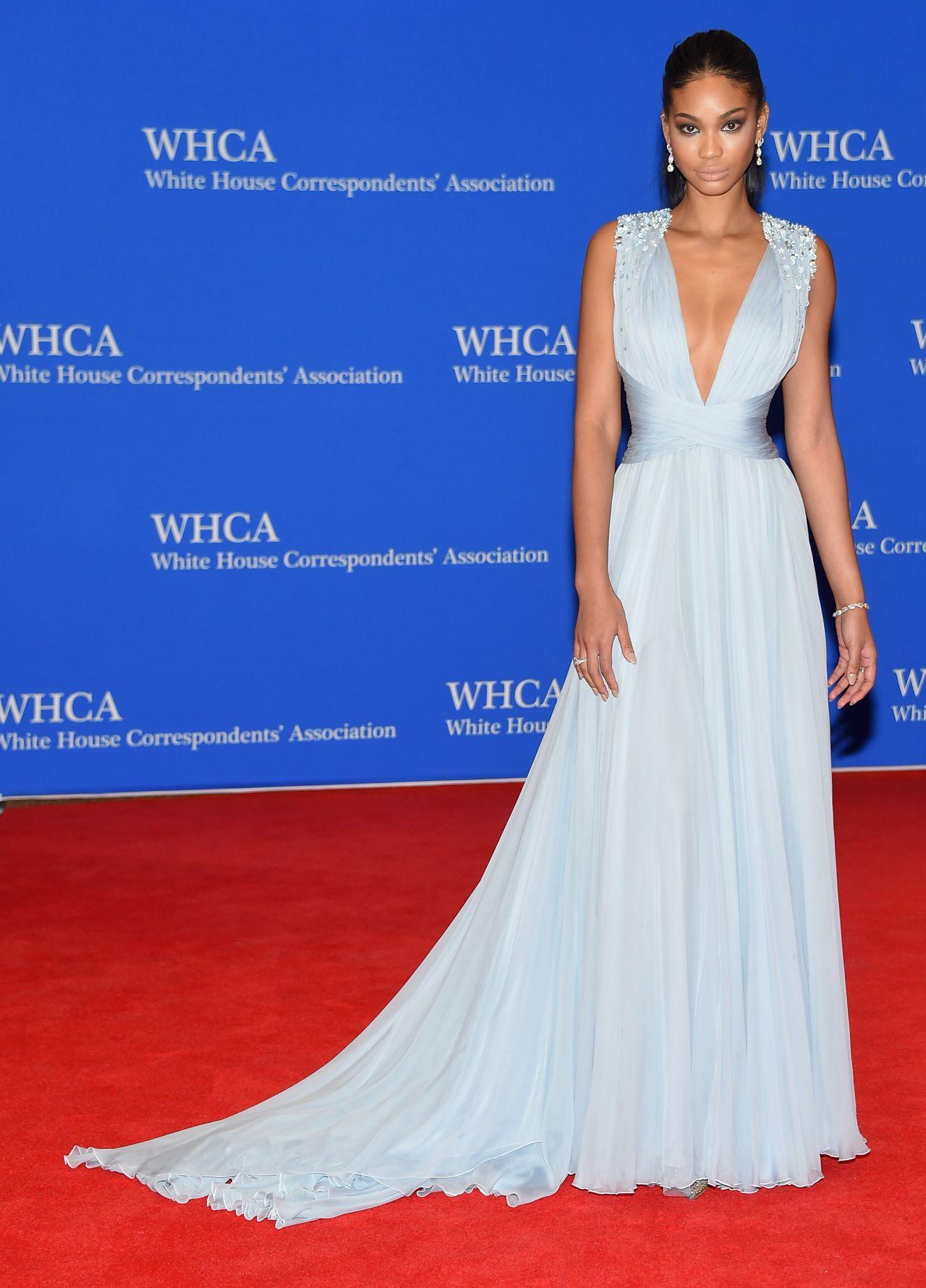 Chanel Iman 2015 White House Correspondents Dinner In