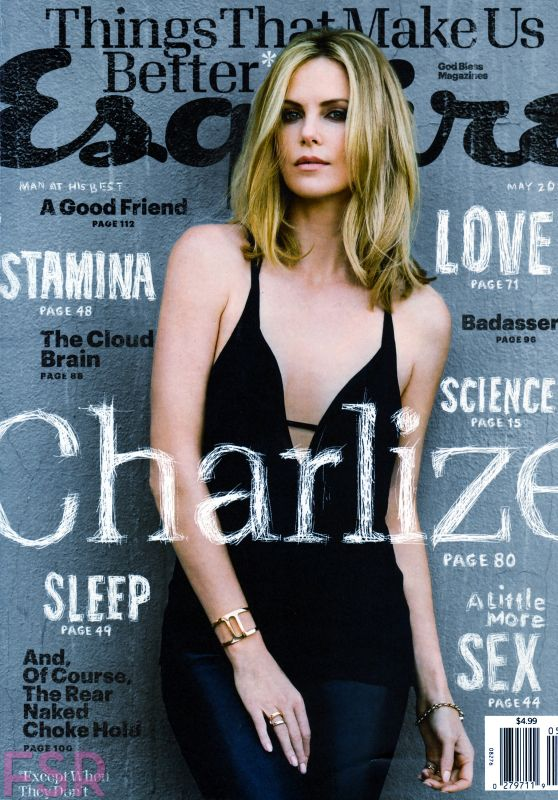 Charlize Theron - Esquire Magazine (US) May 2015 Issue
