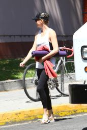 Charlize Theron - Leaving a Yoga Cass in West Hollywood, April 2015