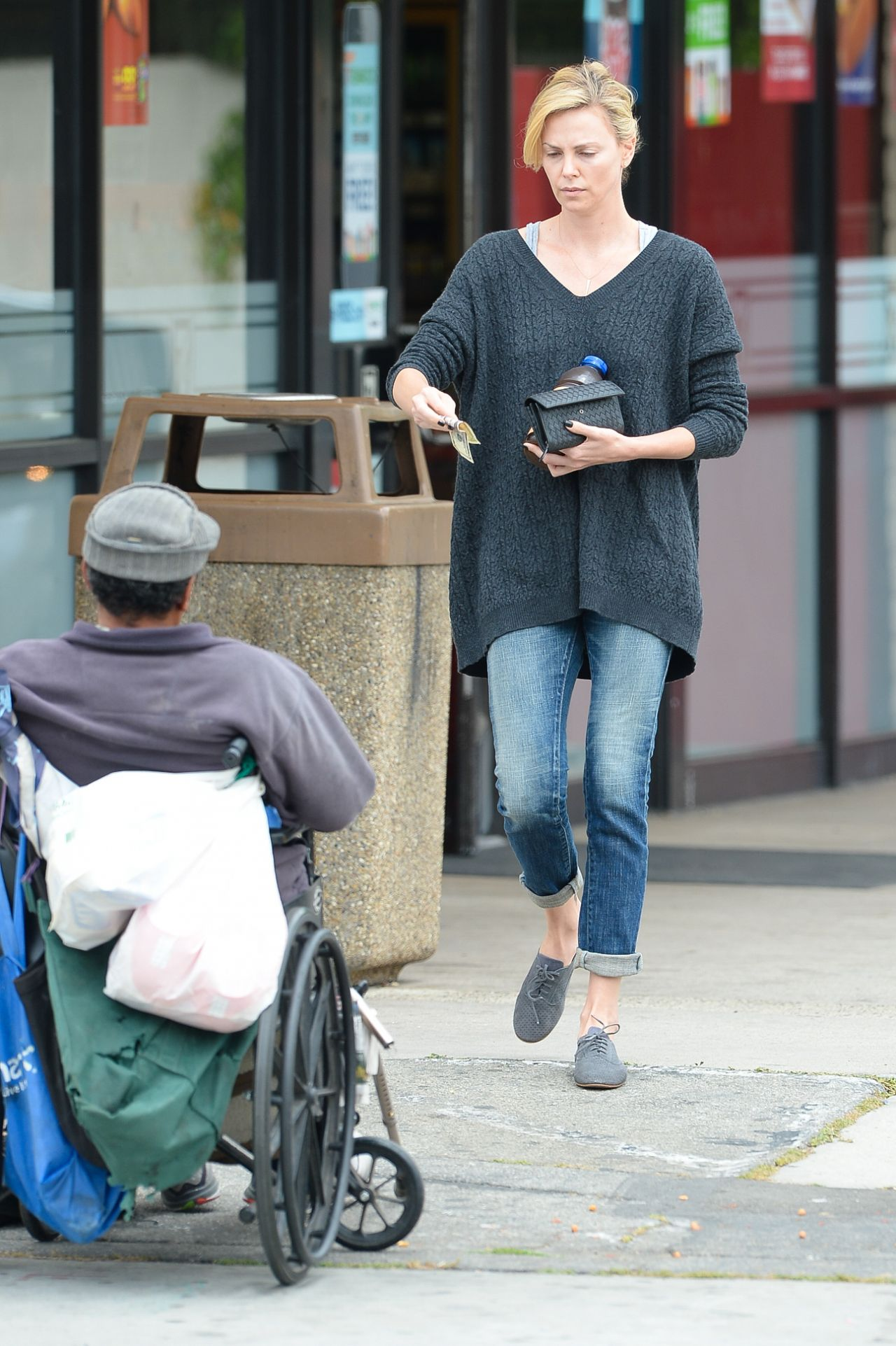 Charlize Theron - Out in Culver City, April 2015