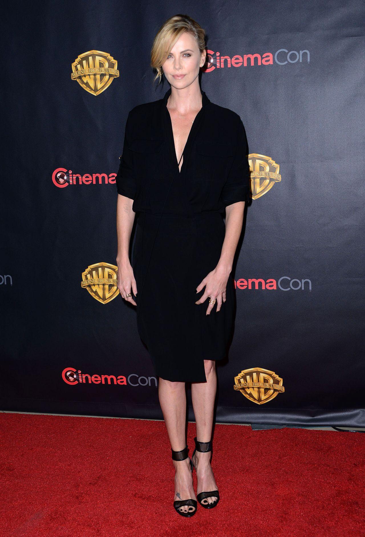 Charlize Theron - WB 2015 Cinemacon Press Line in Las Vegas