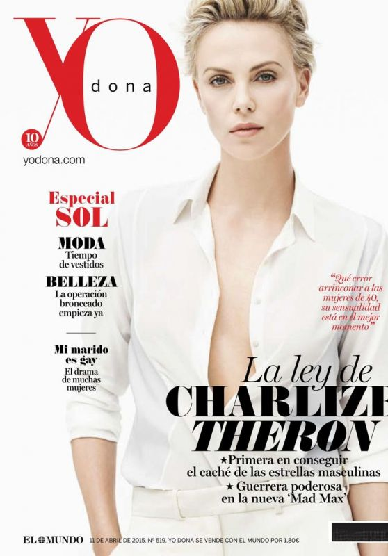 Charlize Theron - YO Dona Magazine (Spain) April 2015 Issue