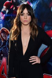 Chloe Bennett - Avengers: Age of Ultron Premiere in Hollywood
