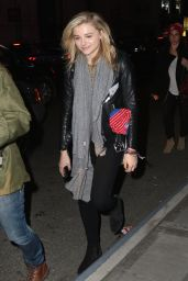 Chloe Moretz - Leaving Madison Square Garden in New York City, April 2015