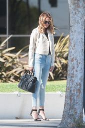 Chrissy Teigen - Doing a Photoshoot in Los Angeles, April 2015