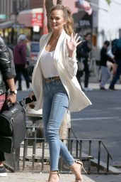 Chrissy Teigen - Out in New York City - April 2015