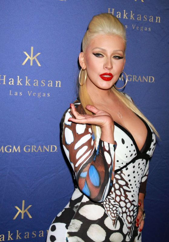 Christina Aguilera – 2015 Hakkasan Nightclub's Party in Las Vegas