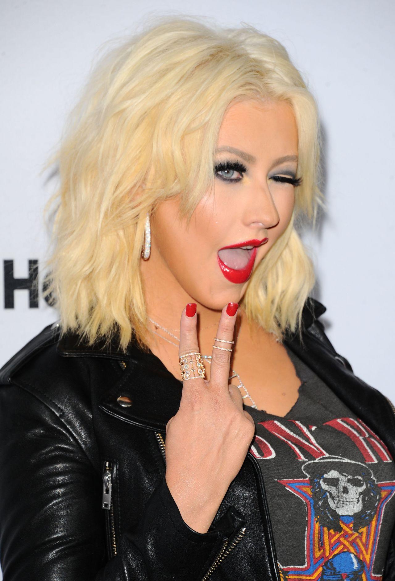 Christina Aguilera - Arrives for NBC's 'The Voice' Season ... Christina Aguilera