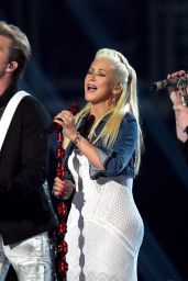 Christina Aguilera Performs at 2015 Academy Of Country Music Awards in Arlington