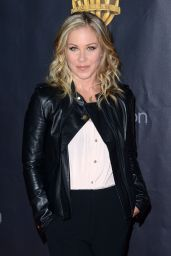 Christina Applegate – WB 2015 Cinemacon Press Line in Las Vegas