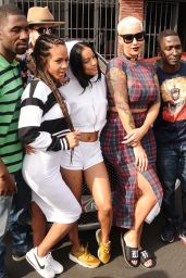 Christina Milian, Karrueche Tran and Amber Rose - Get Ready to go to Coachella in Los Angeles