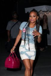 Christina Milian - Leaving the Chateau Marmont in West Hollywood, April 2015