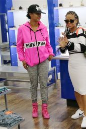 Christina Milian - Sneaker Shopping in Los Angeles, April 2015