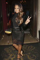 Christina Milian Style - at Steam & Rye in London - April 2015