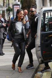 Christina Milian Style - Out in London, April 2015