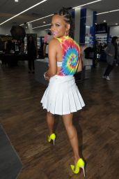 Christina Milian Style - We Are Pop Culture Launch and Meet & Greet at Shiekh Shoes in Hollywood