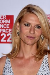 Claire Danes - Performance Space 122 2015 Spring Gala in New York City