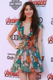 Claudia Kim – Avengers: Age Of Ultron Premiere in Hollywood