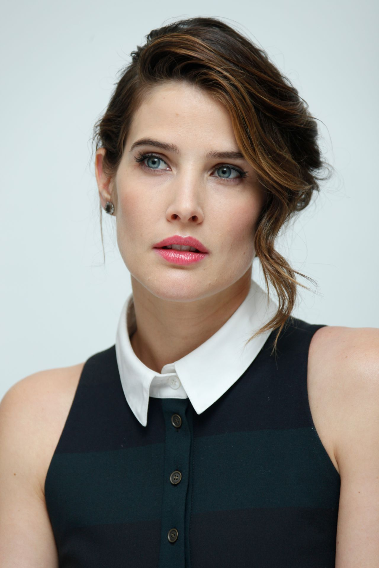 Cobie Smulders - Avengers Age Of Ultron Press Conference -2867