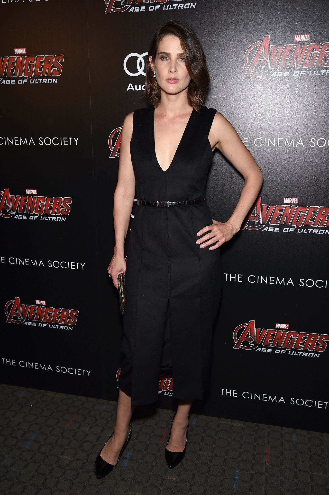 Cobie Smulders Avengers Age Of Ultron Screening In New