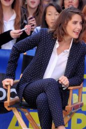 Cobie Smulders - Good Morning America in NYC, April 2015