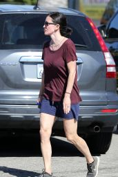 Courteney Cox - Hiking in Malibu, April 2015