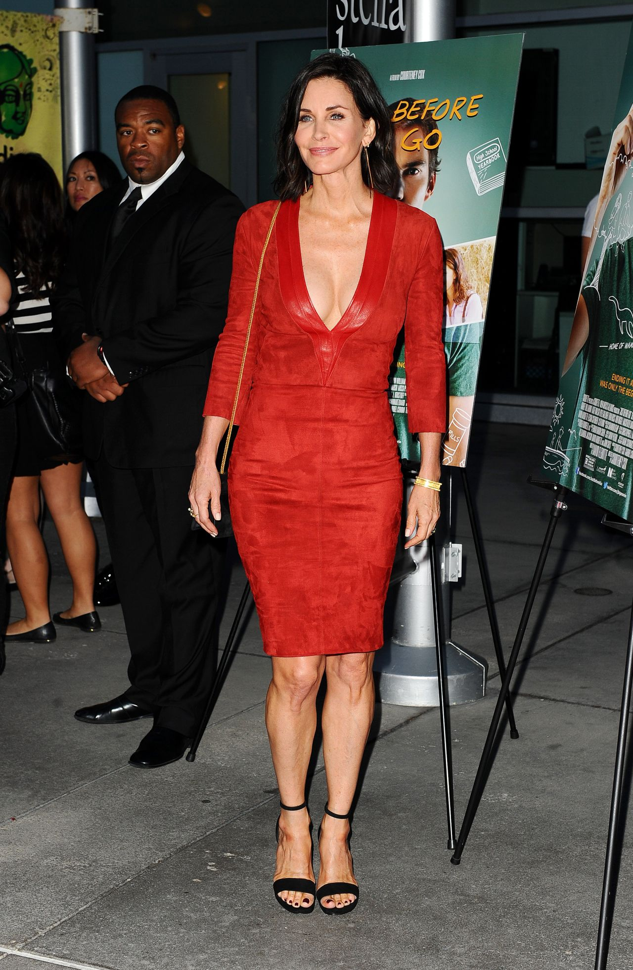 Courteney Cox Just Before I Go Premiere In Hollywood