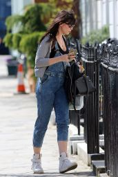 Daisy Lowe Street Style - Out in London, April 2015