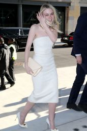 Dakota Fanning - Max Mara Celebrates the Opening of The Whitney Museum Of American Art in NYC