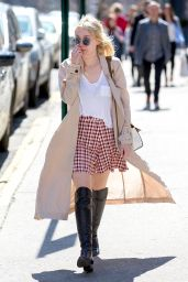 Dakota Fanning Street Fashion - Out in NYC, April 2015