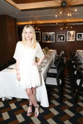 Dakota Fanning - Vogue Celebrates AGL Collection in New York City