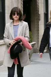 Dakota Johnson - Out in New York City, April 2015