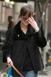 Dakota Johnson - Out NYC, April 2015