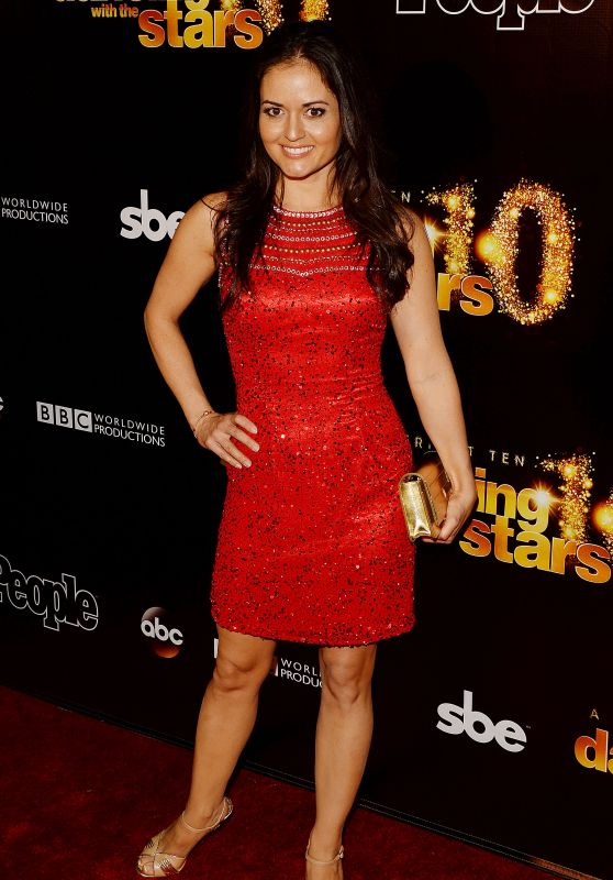 Danica McKellar - Dancing With The Stars 10th Anniversary in West Hollywood