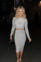 Danielle Armstrong – The Only Way Is Essex Wrap Party in Soho, April 2015