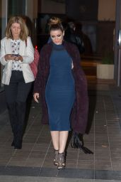 Dannii Minogue - Arrives at The Project in Melbourne, April 2015