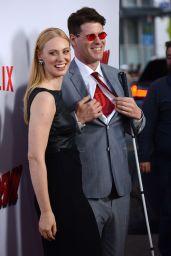 Deborah Ann Woll on Red Capet - Daredevil Premiere in Los Angeles