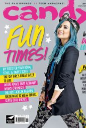 Demi Lovato - Candy Magazine (Philippines) April 2015 Issue