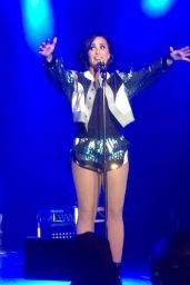 Demi Lovato Performs at World Tour in Sydney, Australia, April 2015