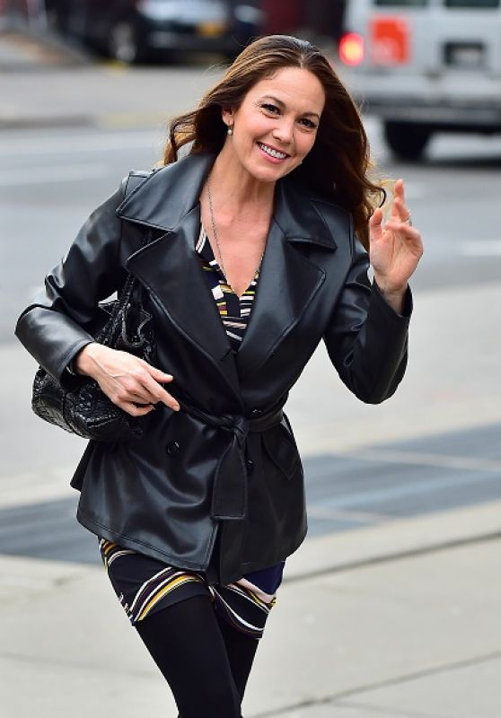 Diane Lane - Out in New York City, April 2015