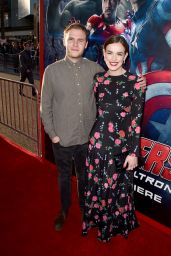 Elizabeth Henstridge – Avengers: Age Of Ultron Premiere in Hollywood